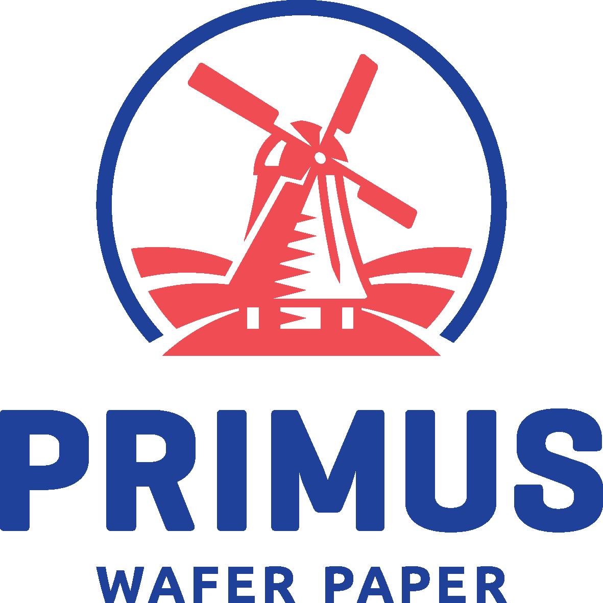 Eetbare labels van Primus ingepakt