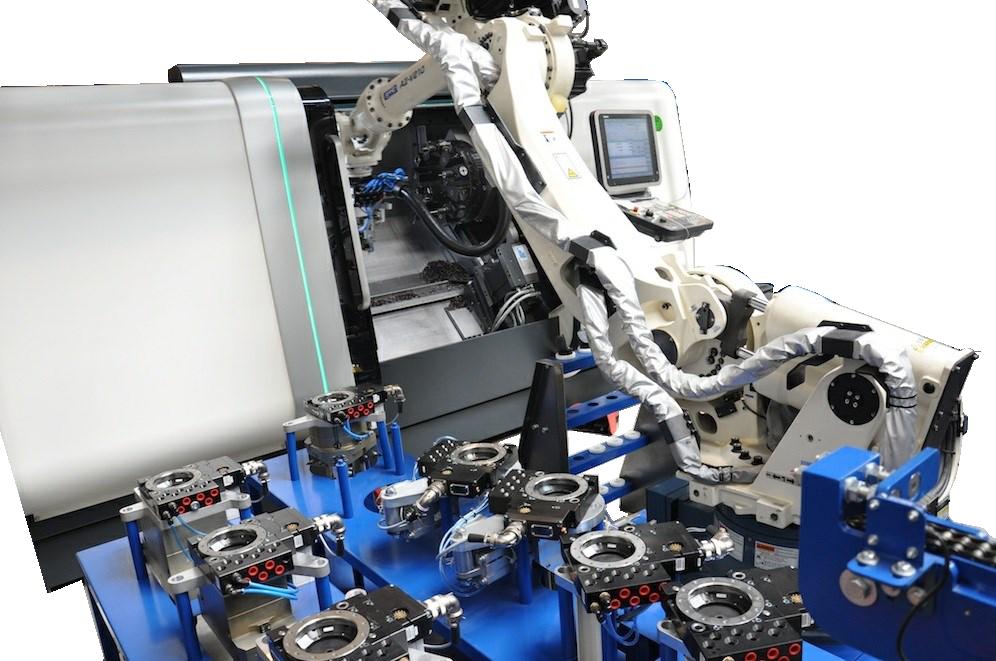CNC Beladingsrobots