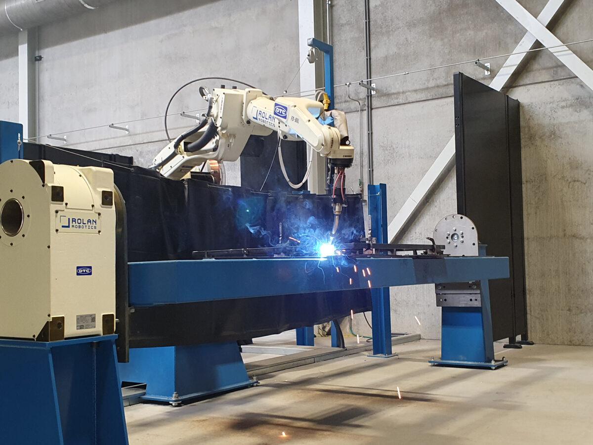 Een lasrobot kopen bij rolan robotics